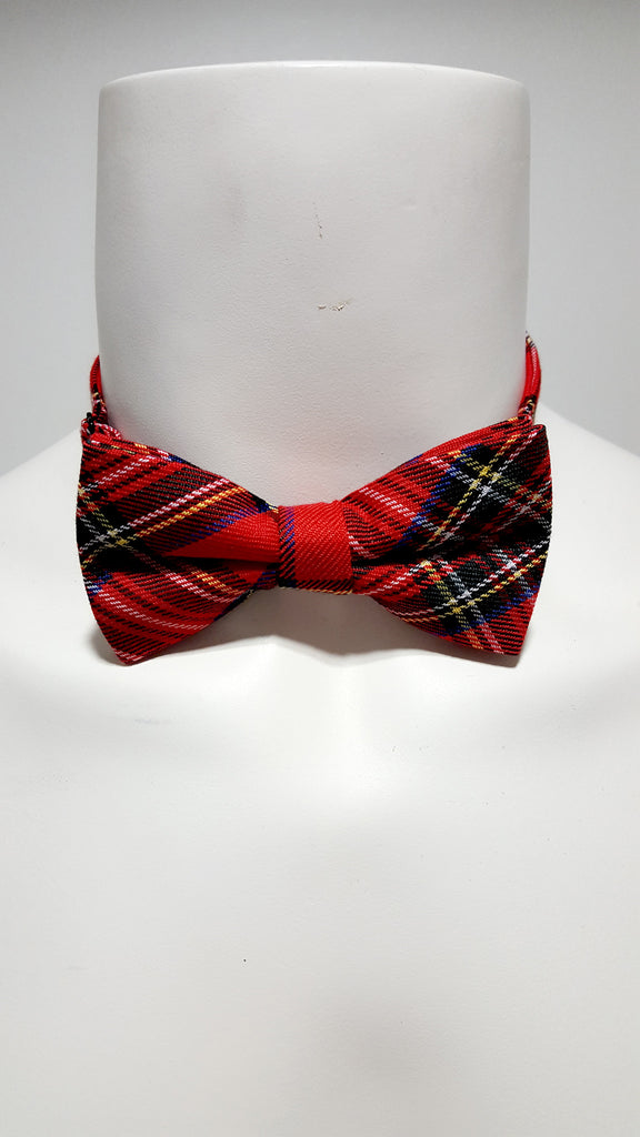 Red & Green Bow Tie