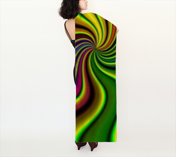 "Lisa 16""x72"" Long Silk Scarf by JoJo (11102174-SS-L) - I WEAR JOJO"
