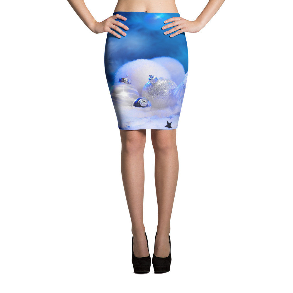 Holiday Pencil Skirt (3110002-PS) - I WEAR JOJO