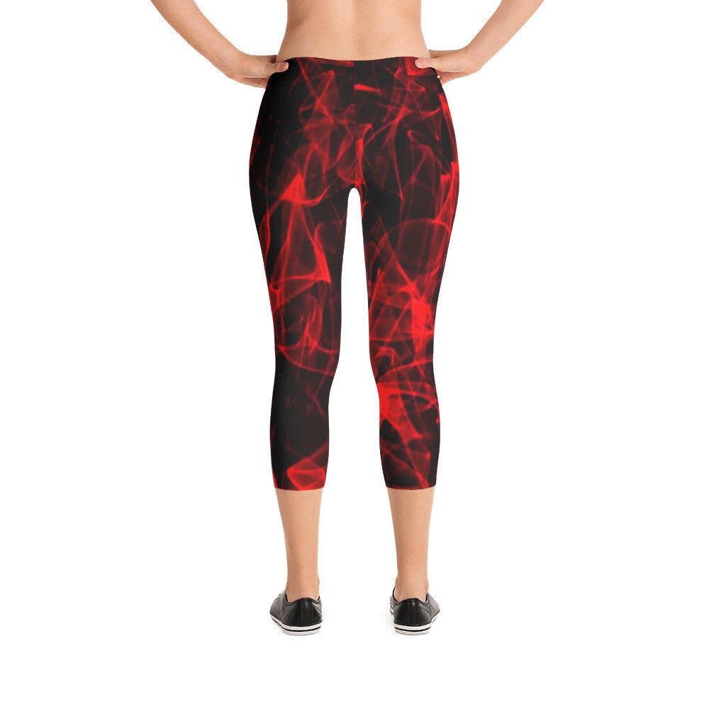 Armani Workout/Exercise Capri Leggings by JoJo (11102213-C) - I WEAR JOJO