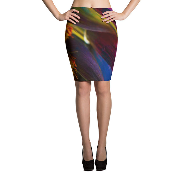 A Brush Of Color Pencil Skirts by JoJo (71101027) - I WEAR JOJO