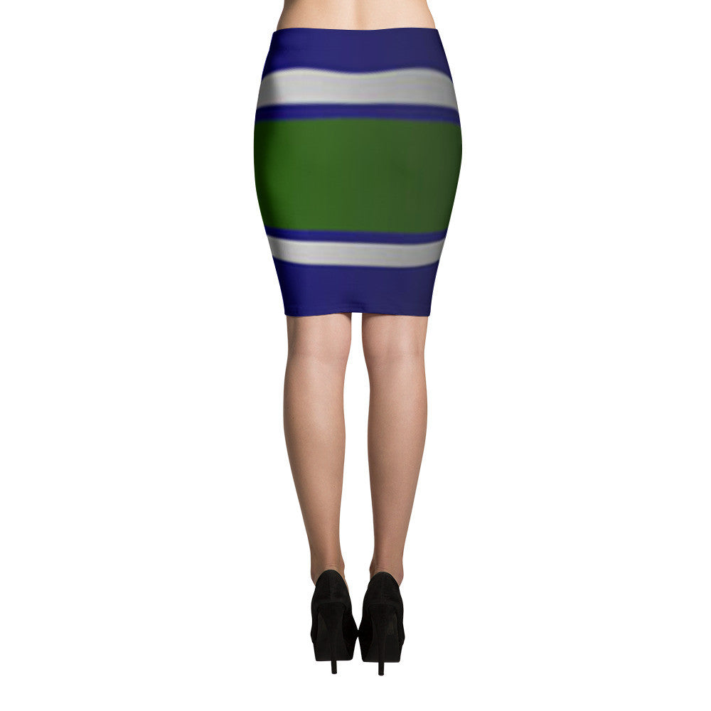 Wigy Stripes Pencil Skirts (71101032)