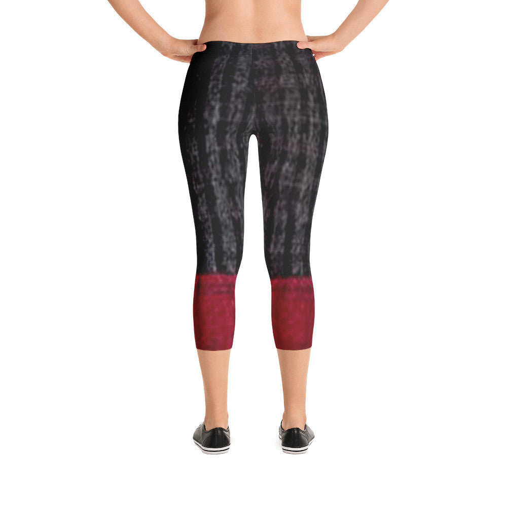 Eliana Workout/Exercise Capri Leggings by JoJo (11102211-C) - I WEAR JOJO