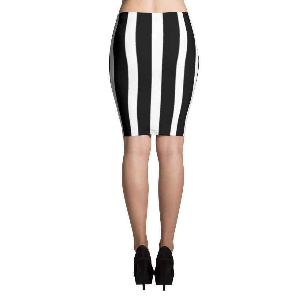 All Striped Out Pencil Skirts by JoJo (71101021) - I WEAR JOJO