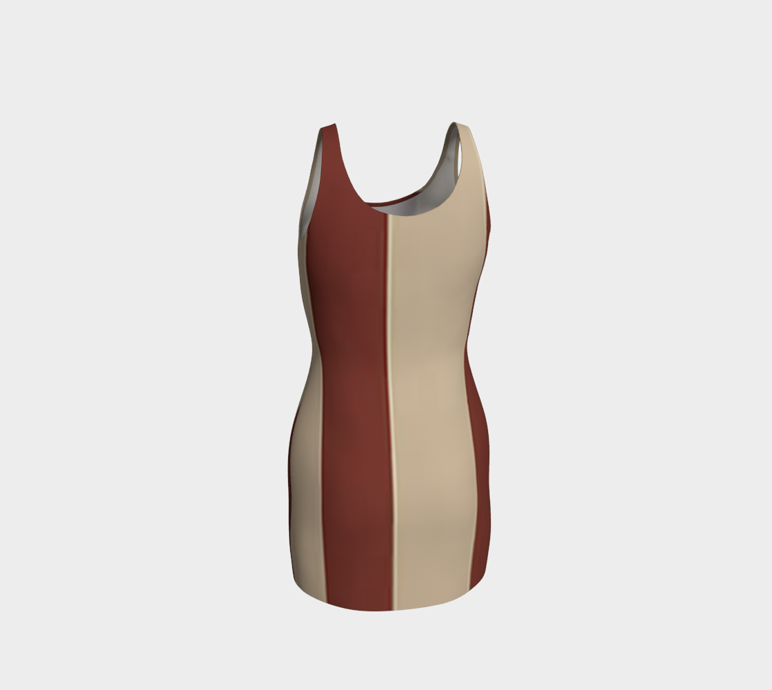 Browning Bodycon Dress by JoJo (1170026-B) - I WEAR JOJO