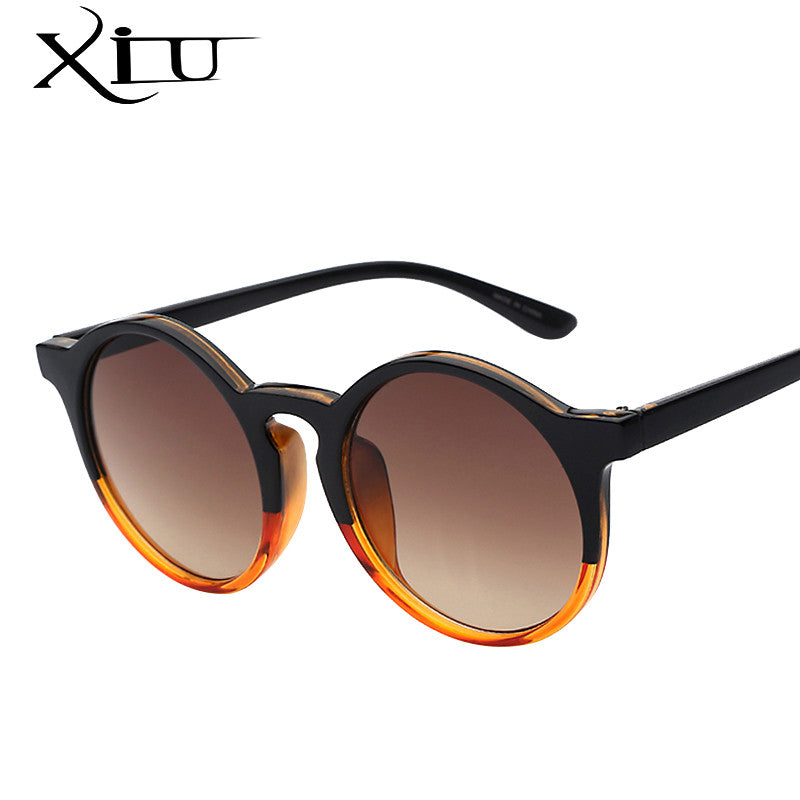 Oversized Round Sunglasses Women Brand Designer Sunglases Woman Sun Glasses Fashion Summer Gafas Feminino Oculos De Sol - I WEAR JOJO