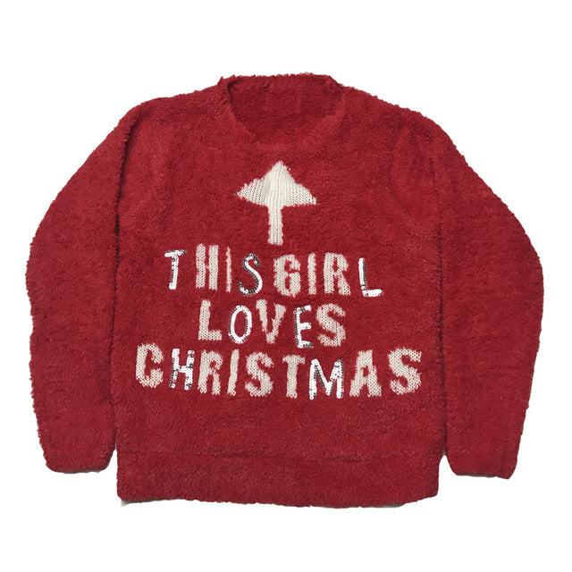 Funny Light Up Family Matching Christmas Sweaters Mother Daughter Father Son Matching Christmas Clothes - I WEAR JOJO