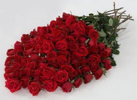 001  Breathless Luxury Rose Bouquet 24-inch Premium Long-Stemmed Roses