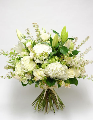 3 White and Green Bouquet