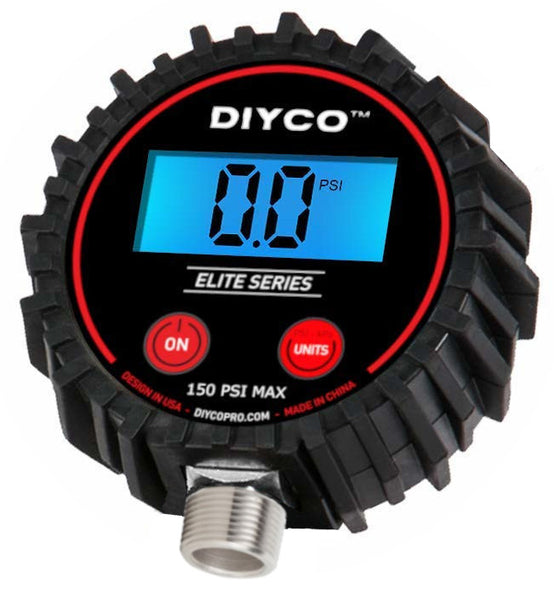 "3"" Digital Pressure Gauge - D3 Head Unit"