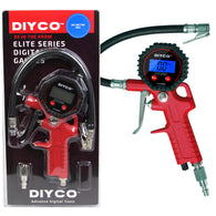 DIYCO Digital Tire Inflator with Pressure Gauge and Lock-on Air Chuck - 175 PSI - diycopro.com