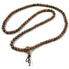 108 Bead Agarwood 6mm Mala Bracelet - Tibetan Buddhist Mala Beads