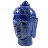Hand Carved Lapis Lazuli Buddha Statue - Buddha Face Carving