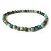 Mini Jasper Gemstone 4mm Bead Energy Bracelet