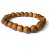 Agarwood 8mm Mala Bead Bracelet - Yoga Meditation Bracelet - Buddha Beads