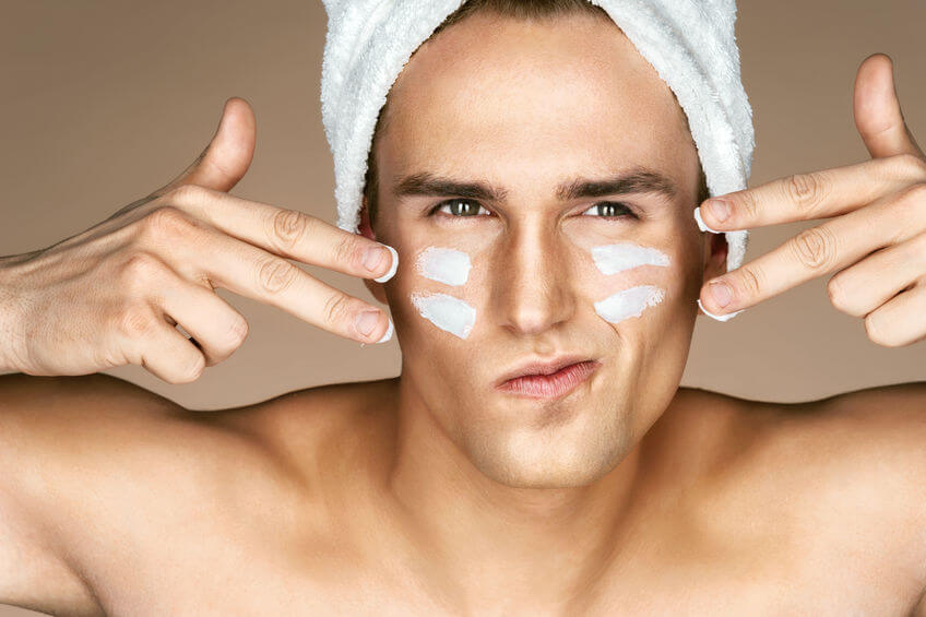 Should a man use skincare products?