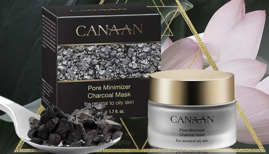 Charcoal for acne-prone skin
