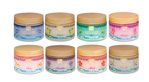 Health & Beauty - Aromatic Body Scrub - DeadSeaShop.co.uk