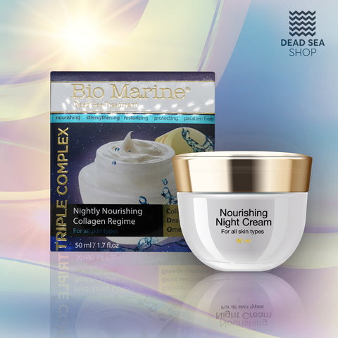 Sea Of Spa - Bio Marine - Nightly Nourishing Collagen Regime - deadseashop.co.uk