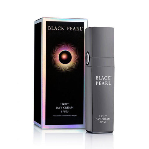 Black Pearl - Light Day Cream SPF-25 - deadseashop.co.uk