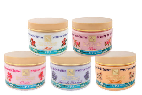 Health & Beauty - Aromatic Body Butter  - DeadSeaShop.co.uk