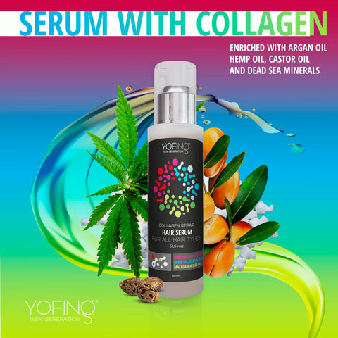 YOFING - Hair Serum With Collagen - DeadSeaShop.co.uk