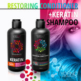 YOFING - Keratin Hair Shampoo Repair Hair Formula with Argan Oil - DeadSeaShop.co.uk