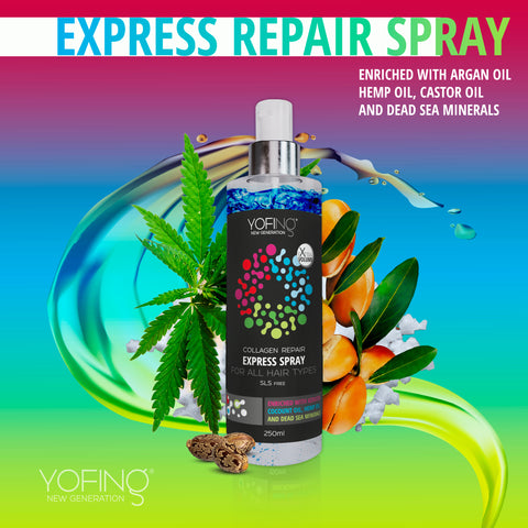 YOFING - Express Repair Spray - DeadSeaShop.co.uk
