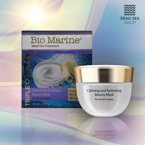 Sea Of Spa - Bio Marine - Hydrating Collagen Beauty Mask - deadseashop.co.uk