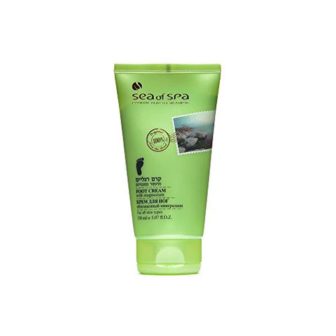 Sea Of Spa Foot Cream with Magnesium - deadseashop.co.uk