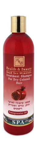 Health & Beauty - Pomegranates Shampoo - DeadSeaShop.co.uk