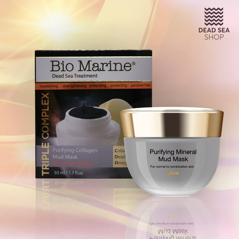 Sea Of Spa - Bio Marine - Purifying Collagen Mud Mask - deadseashop.co.uk