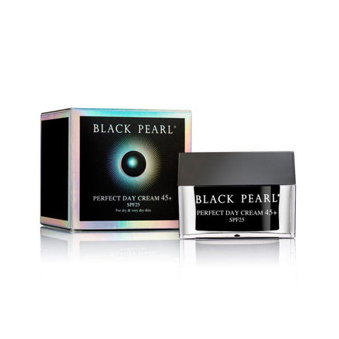 Black Pearl - Perfect Day Cream 45+ SPF 25 - deadseashop.co.uk