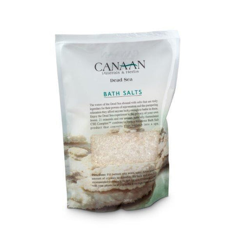 CANAAN Minerals & Herbs - Dead Sea Salt - DeadSeaShop.co.uk