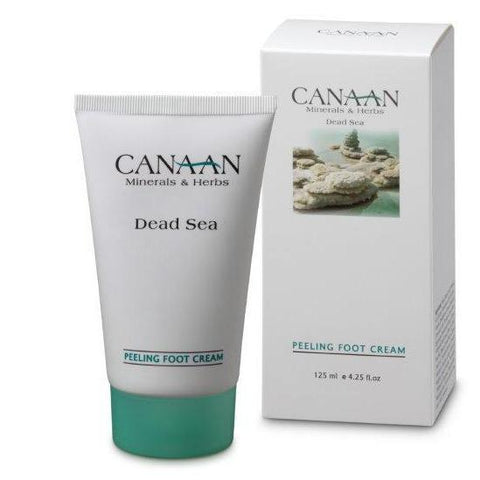 CANAAN Minerals & Herbs - Peeling Foot Cream  - DeadSeaShop.co.uk