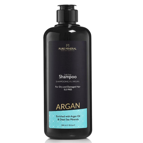 Pure Mineral Argan Hair Shampoo - deadseashop.co.uk