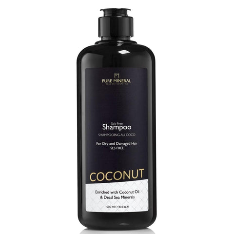 Pure mineral Coconut Oil Shampoo - deadseashop.co.uk