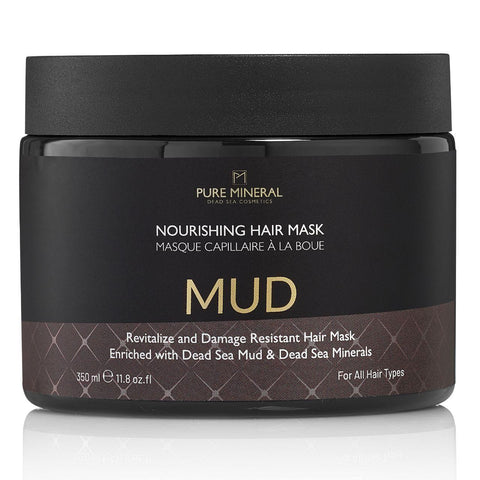 Pure Mineral Mud Hair mask - deadseashop.co.uk