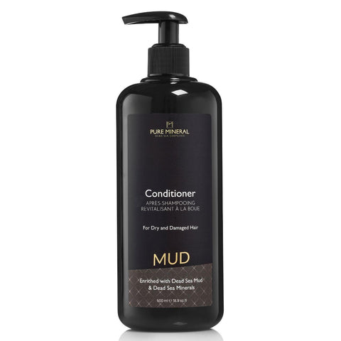 Pure Mineral Mud Hair Conditioner - deadseashop.co.uk
