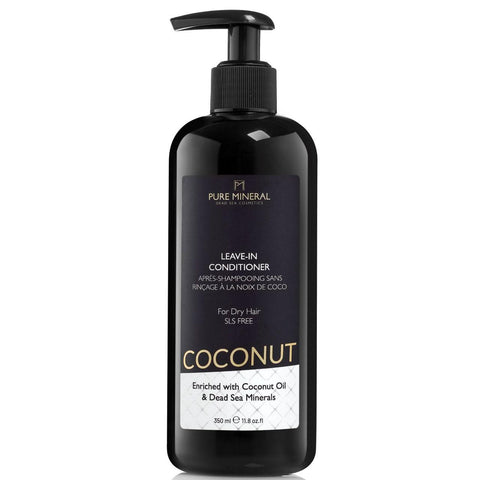 Pure Mineral Coconut Leave-in Conditioner For Dry Hair - deadseashop.co.uk