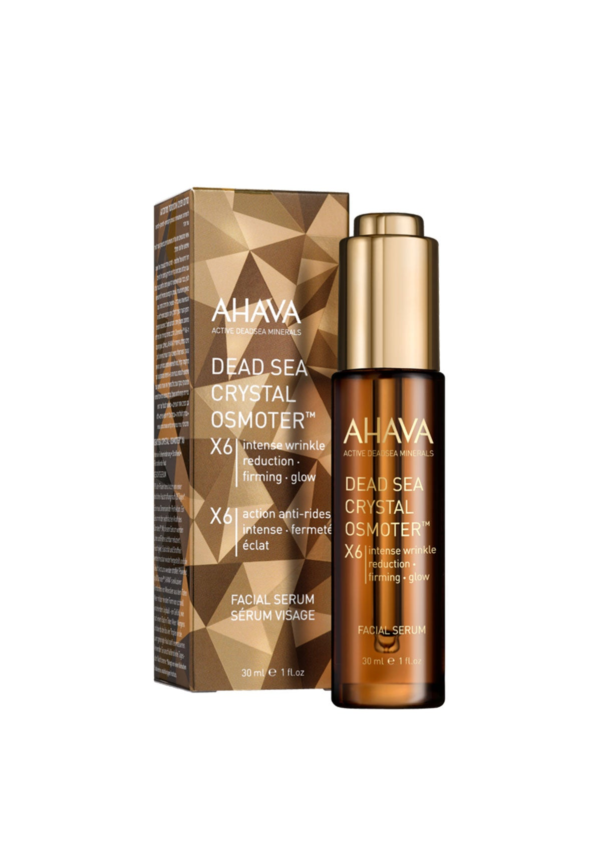 AHAVA - Dead Sea Crystal Osmoter X6 Facial Serum - DeadSeaShop.co.uk
