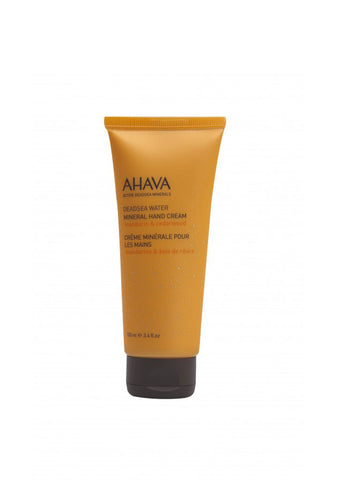 AHAVA - Mineral Hand Cream - Mandarin & Cedarwood - DeadSeaShop.co.uk