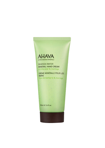 AHAVA - Mineral Hand Cream - Prickly Pear & Moringa - DeadSeaShop.co.uk