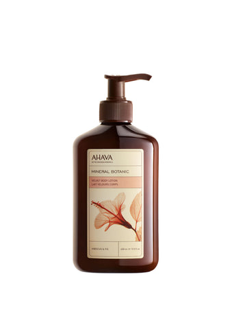 AHAVA - Mineral Botanic Body Lotion - Hibiscus & Fig - DeadSeaShop.co.uk