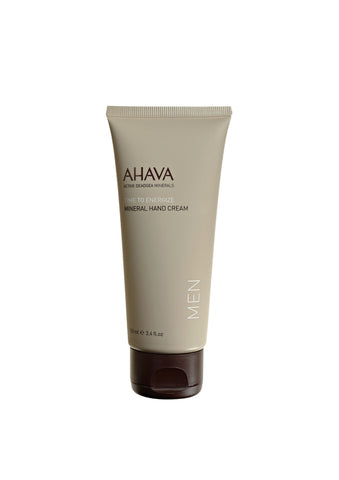 AHAVA - Men's Mineral Hand Cream - DeadSeaShop.co.uk