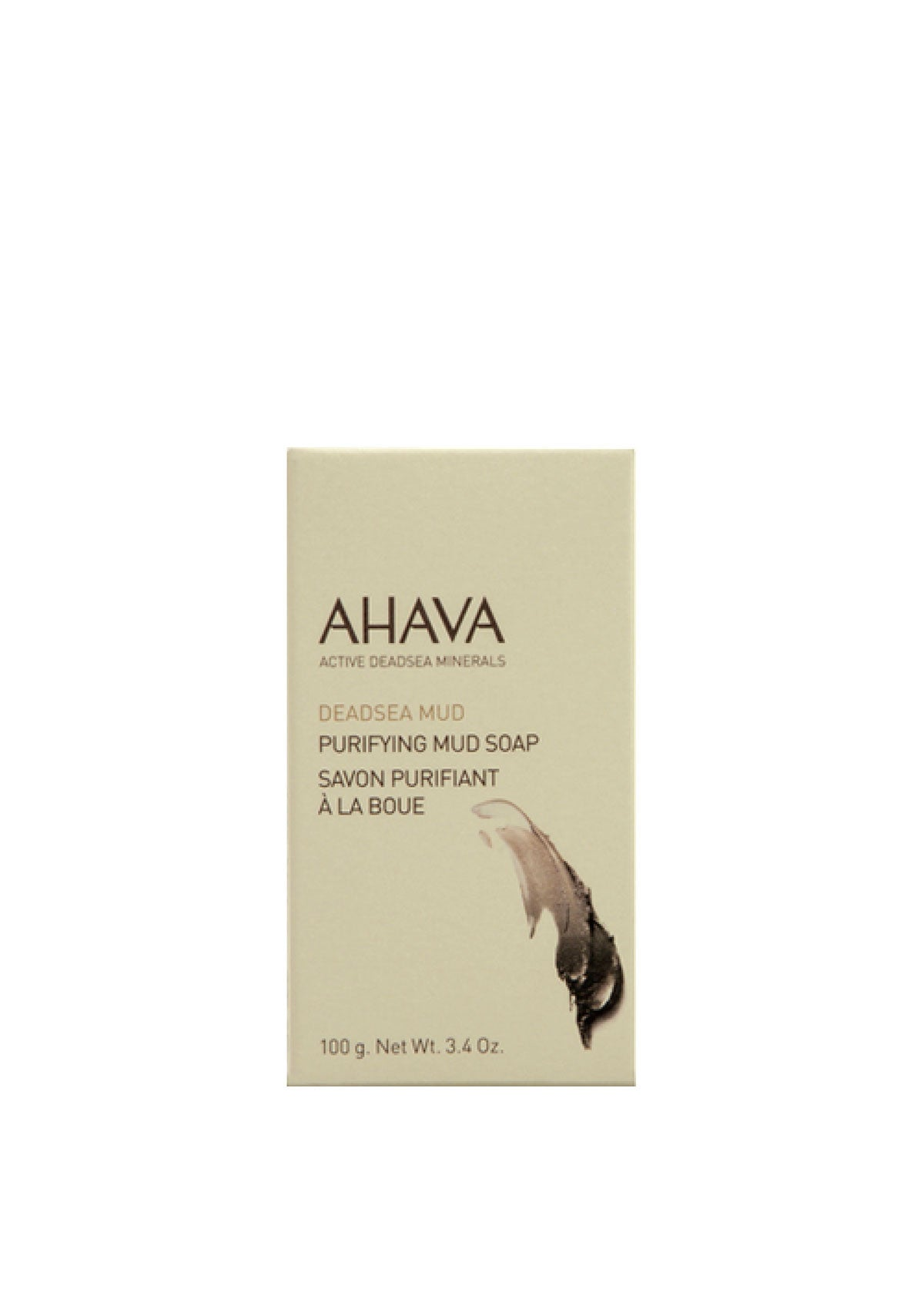 AHAVA - Purifying Dead Sea Mud Soap - DeadSeaShop.co.uk