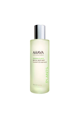 AHAVA - Dry Oil Body Mist - Mandarin & Cedarwood - DeadSeaShop.co.uk