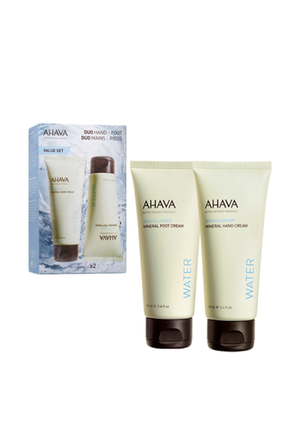 AHAVA - Duo Kit Hand + Foot - DeadSeaShop.co.uk