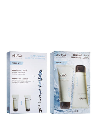 AHAVA - Duo Kit Hand + Body - DeadSeaShop.co.uk