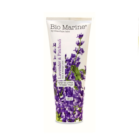 Sea of Spa Body & Massage Lotion Lavender & Patchouli - deadseashop.co.uk